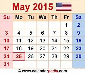 Image Gallery May 2015 Calendar