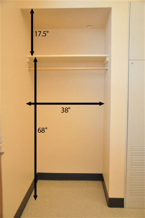 Wardrobe Closet For Small Spaces by Layout Housing At Purdue University
