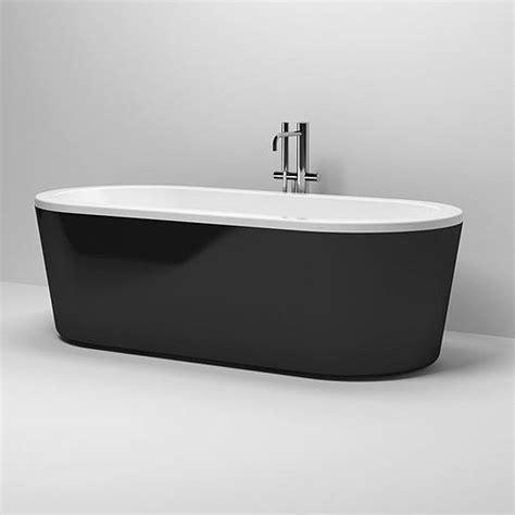 baignoire ovale 224 poser design inbe clou black