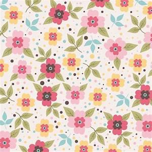 Flower pattern design Free vector in Adobe Illustrator ai ...