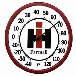 10 Inch Farmall IH Thermometers