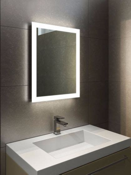 Heated Mirror Bathroom Cabinet by Halo Led Light Bathroom Mirror 1416 Home Sweet Home