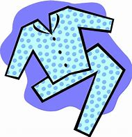 Image result for flannel pajama day clip art