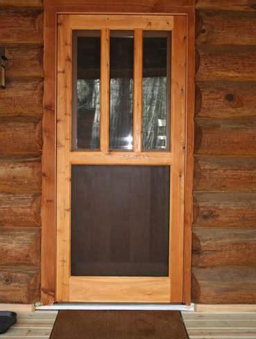 wooden screen doors screen doors turtle river millwork