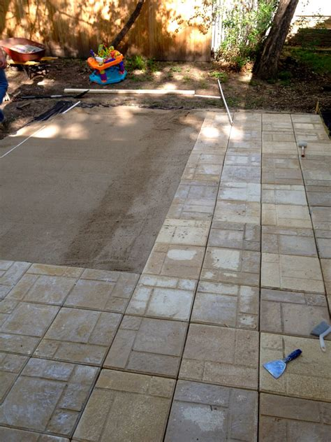 Patio Blocks by 24x24 Concrete Pavers Lowes Home Depot Patio Blocks
