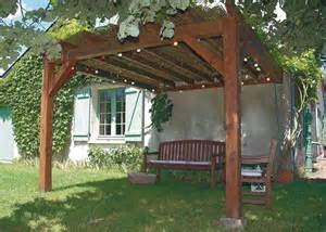 pose pergola bois extension maison 224 orl 233 ans 45