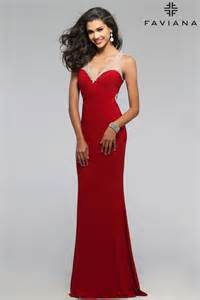 gown dress with price faviana 7764 prom dress prom gown 7764