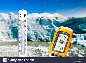 A Thermometer Taking The Air Temperature As Part Of A