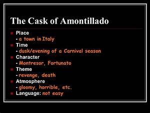 The Cask Of Amontillado Plot Diagram