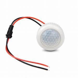 220v Pir Motion Sensor Switch On    Off Ir Infrared Human