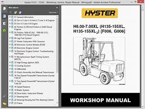 Hyster H135 - 155xl