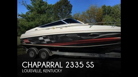 Chaparral Boats Ky by Unavailable Used 1998 Chaparral 2335 Ss In Louisville