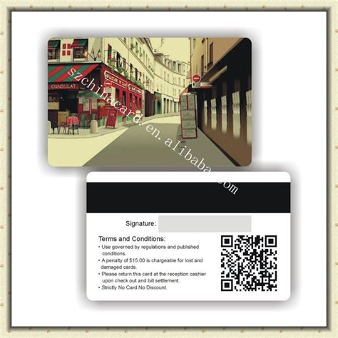 High Quality Pvc Barcode Membership Card Factory Price