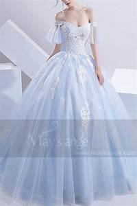 Robe de mariage m387 bleu turquoise for Robe mariage bleu