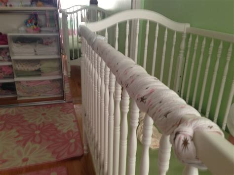 crib teething guard today s hint how to cheaply save cribs from teeth