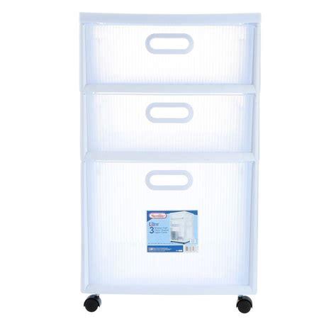 sterilite 4 drawer cabinet 2 pack sterilite 16 in 2 drawer ultra cart 2 pack 36208002