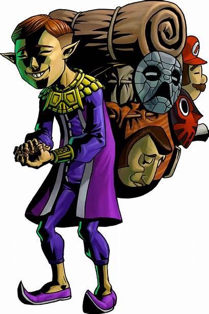 Mask Salesman Happy Zelda Mm
