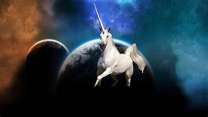 Unicorn Wallpapers Licorne Einhorn Space Animal Magical