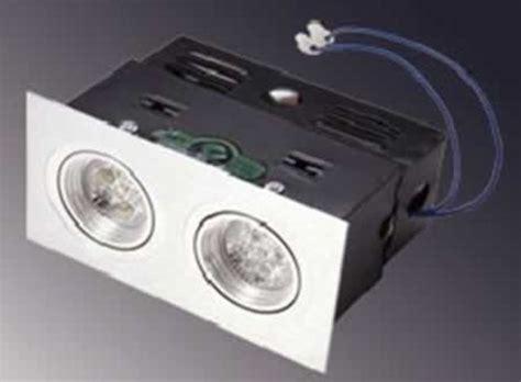 kit spot led encastrable plafond spot led encastr free spot encastrable led w gu ip v chrom with spot led encastr amazing tarif