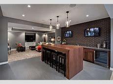 basement bar designs with floating shelves home bar