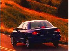 CHEVROLET Cavalier specs 1994, 1995, 1996, 1997, 1998