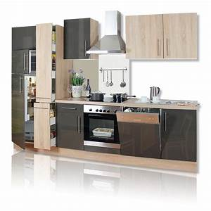 Kuchenblock jana hochglanz front 310 cm breite for M bel h ffner küchen