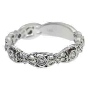 Marquise Filigree Wedding Band Mouradian Custom Jewelry