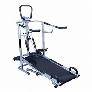 Manual Multi Functional Treadmill 4 In 1