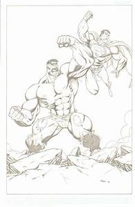 Hulk vs Superman by LakLim on DeviantArt