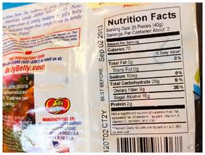 gummy bear nutrition facts