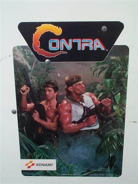 Contra Videogame By Konami
