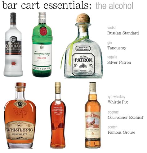 Bar Essentials by How To Stock A Bar Cart