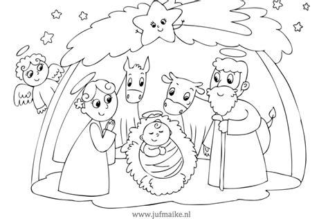 Kerststal Kleurplaat Olwassen by Placemat Kerst Juf Maike Tips Voor De Ontwikkeling