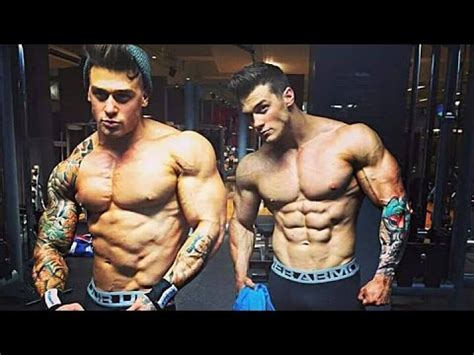harrison twins aesthetic  brothers bodybuilding