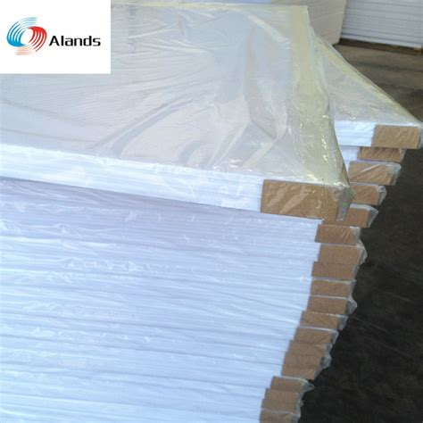 china high quality white foam board pvc foam  plastic