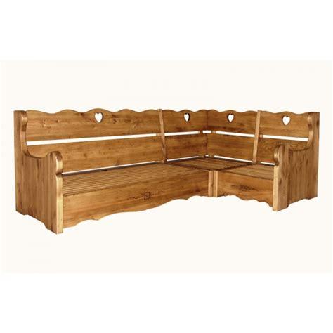canapé en bois massif canape d 39 angle en bois massif