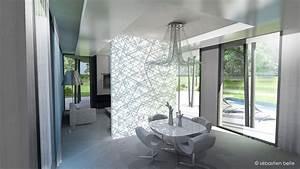 photo interieur de maison contemporaine With modele interieur maison moderne