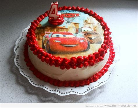 birthday cake  cars disney pixar happy birthday