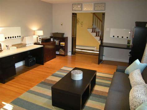 living room  den redesign total transformation