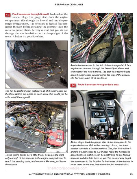 automotive wiring electrical systems volume 2