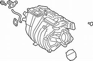 Toyota Avalon Engine Intake Manifold  Whybrid  Liter