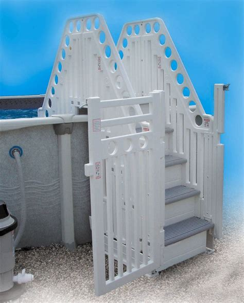 amazoncom confer double staircase  ground pool