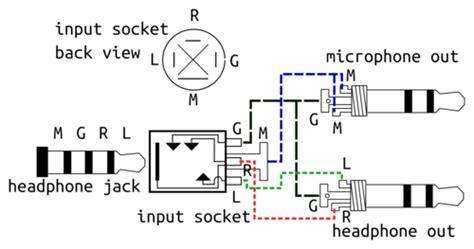 mic jack wiring clickedyclick
