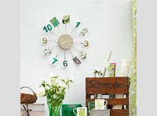 Design your own wall clock Home office organising 10