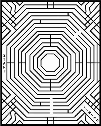 Maze Mazes Puzzles Hard Puzzle Printable Difficult