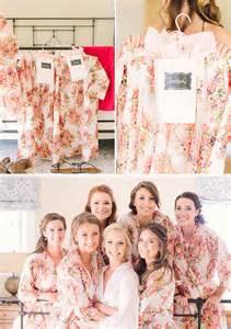bridesmaid kimono white floral posy bridesmaids robe sets kimono robes spa