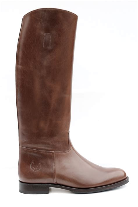 basic embossy handmade mens tall riding leather boots