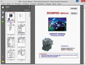 Mahindra Scorpio - Service Manual