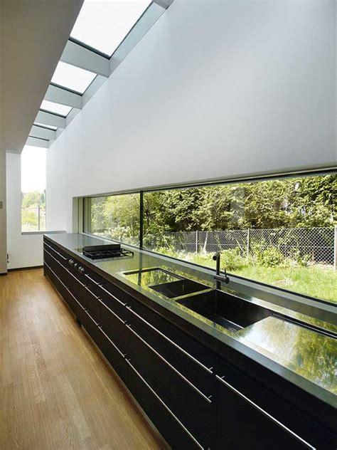 kleiner grundriss  hang modernes einfamilienhaus