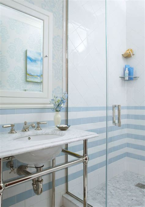 Bathroom White Tiles by Decorating Ideas For Blue And White Bathrooms In 2019